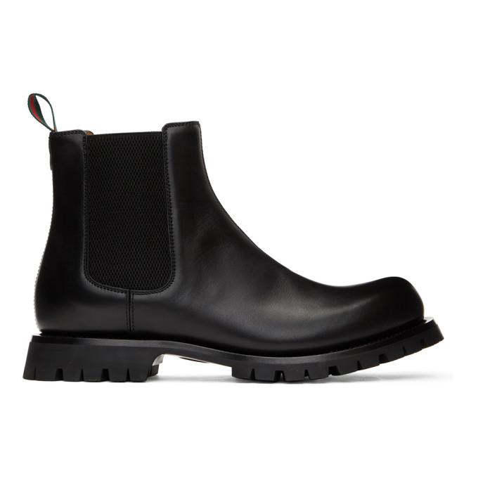 Gucci 黑色 Epilogue 切尔西靴
