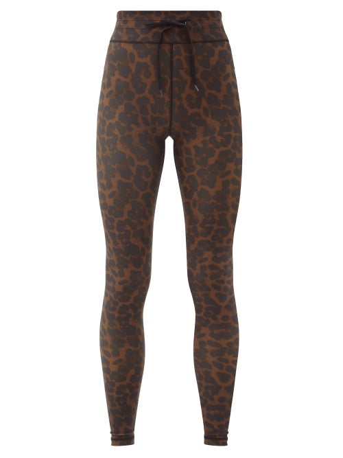 The Upside - Leopard-print Technical-jersey Leggings - Womens - Leopard