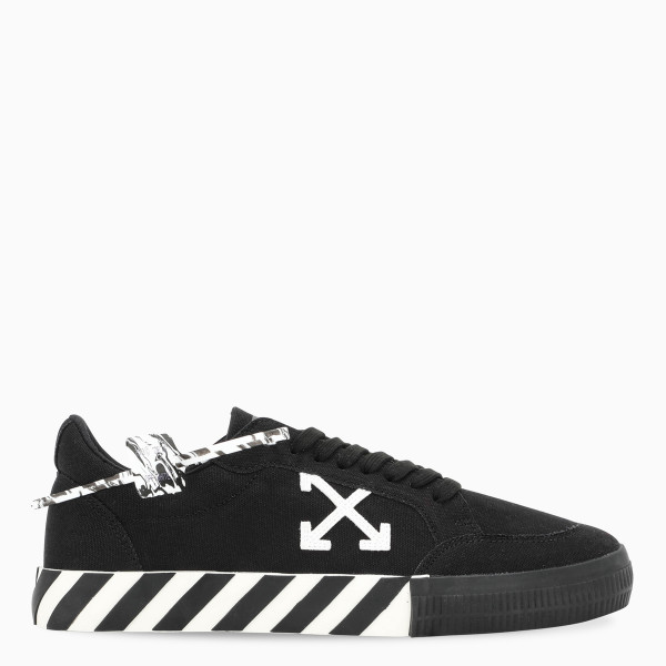 Off-White™ Men's black/white Vulcanized sneakers