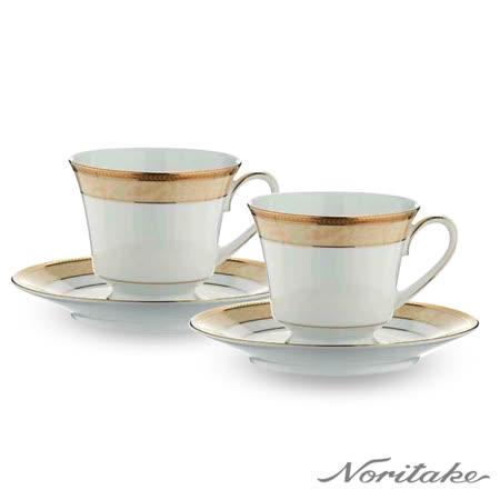 【日本Noritake】愛戀古典咖啡對杯禮盒