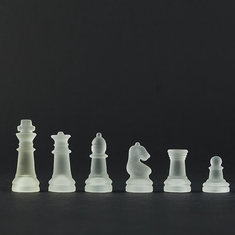 國際象棋 國際象棋水晶高檔學生初學者教學成人比賽專用非中國象棋防水【xy3089】