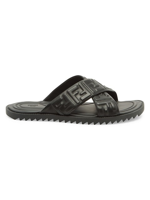FF Nappa Leather Slides