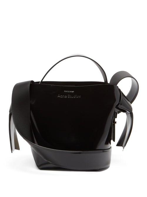 Acne Studios - Musubi Mini Leather Cross-body Bag - Womens - Black
