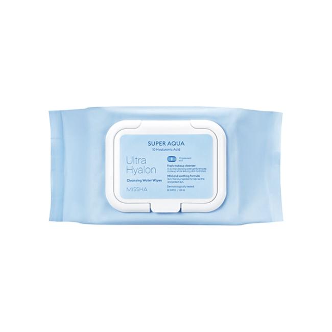 MISSHA極致玻尿酸超水潤卸妝水濕巾