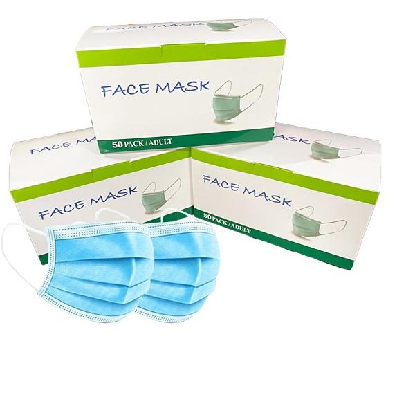 聚泰 三層防護口罩 50入/盒 口罩 成人口罩 防護口罩 一般口罩 防塵口罩 機車口罩 一般口罩