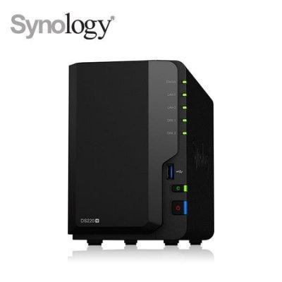 @電子街3C特賣會@全新群暉 Synology DS220+  2Bay NAS網路儲存伺服器(不含硬碟) DS220+