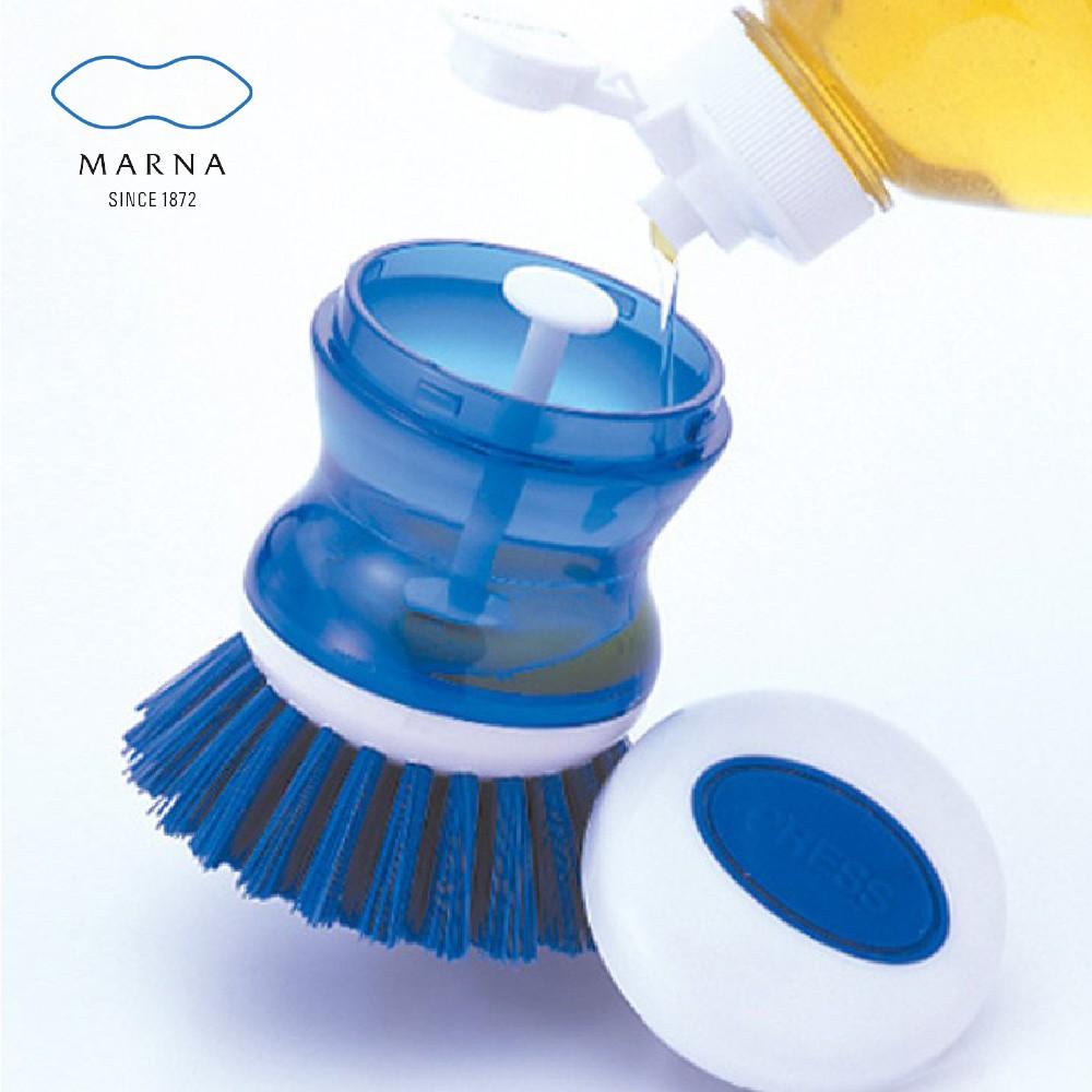 MARNA 日本品牌廚房清潔刷(可倒入清潔劑)