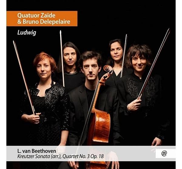 【停看聽音響唱片】【CD】路德維希(貝多芬):小提琴奏鳴曲(克羅采)改編曲集 / 柴伊德四重奏