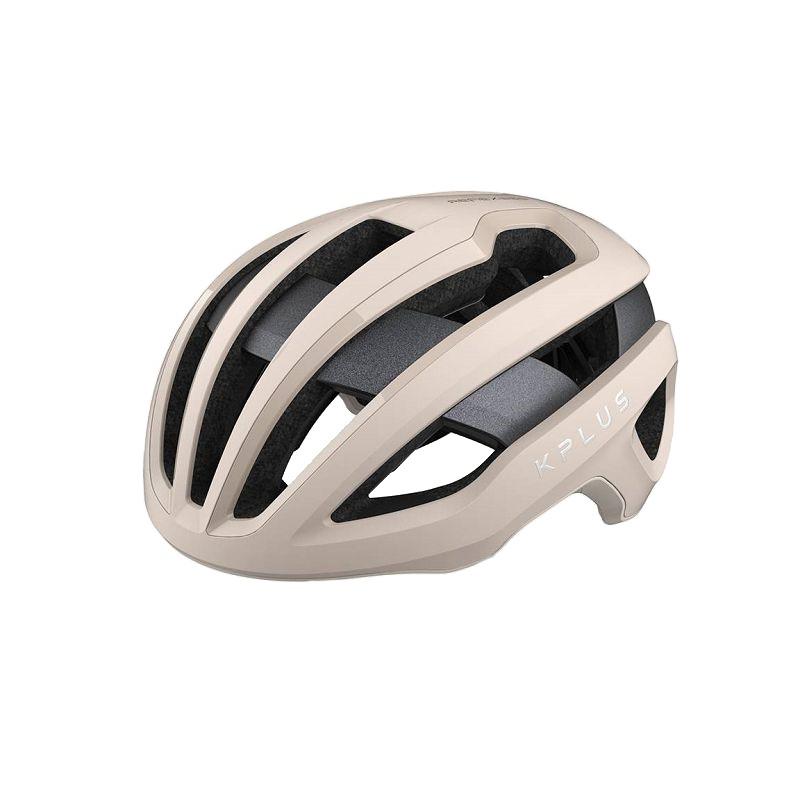 KPLUS NOVA系列公路競速360度全視角反光安全帽(米白)【7號公園自行車】