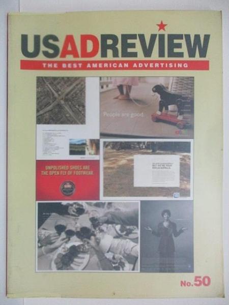 【書寶二手書T7/設計_DY8】US AD REVIEW_No.50