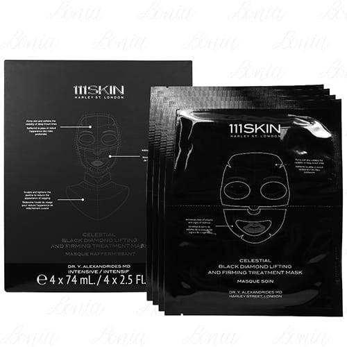 111SKIN 黑鑽超光速全能黑面膜(74mlx4片)【VT薇拉寶盒】