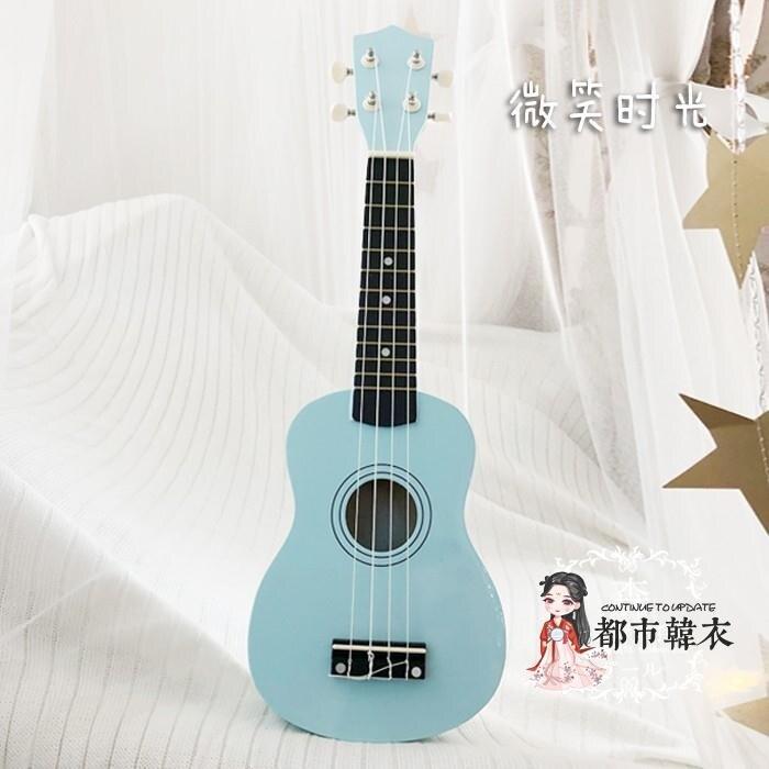 現貨 尤克里里 小清新烏克麗麗21寸23寸四弦琴初學者小吉他T