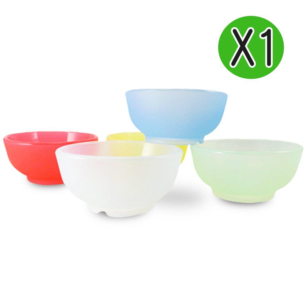【Mrs.home】MIT環保無毒SGS認證歡樂漾彩耐熱耐酸矽膠兒童碗