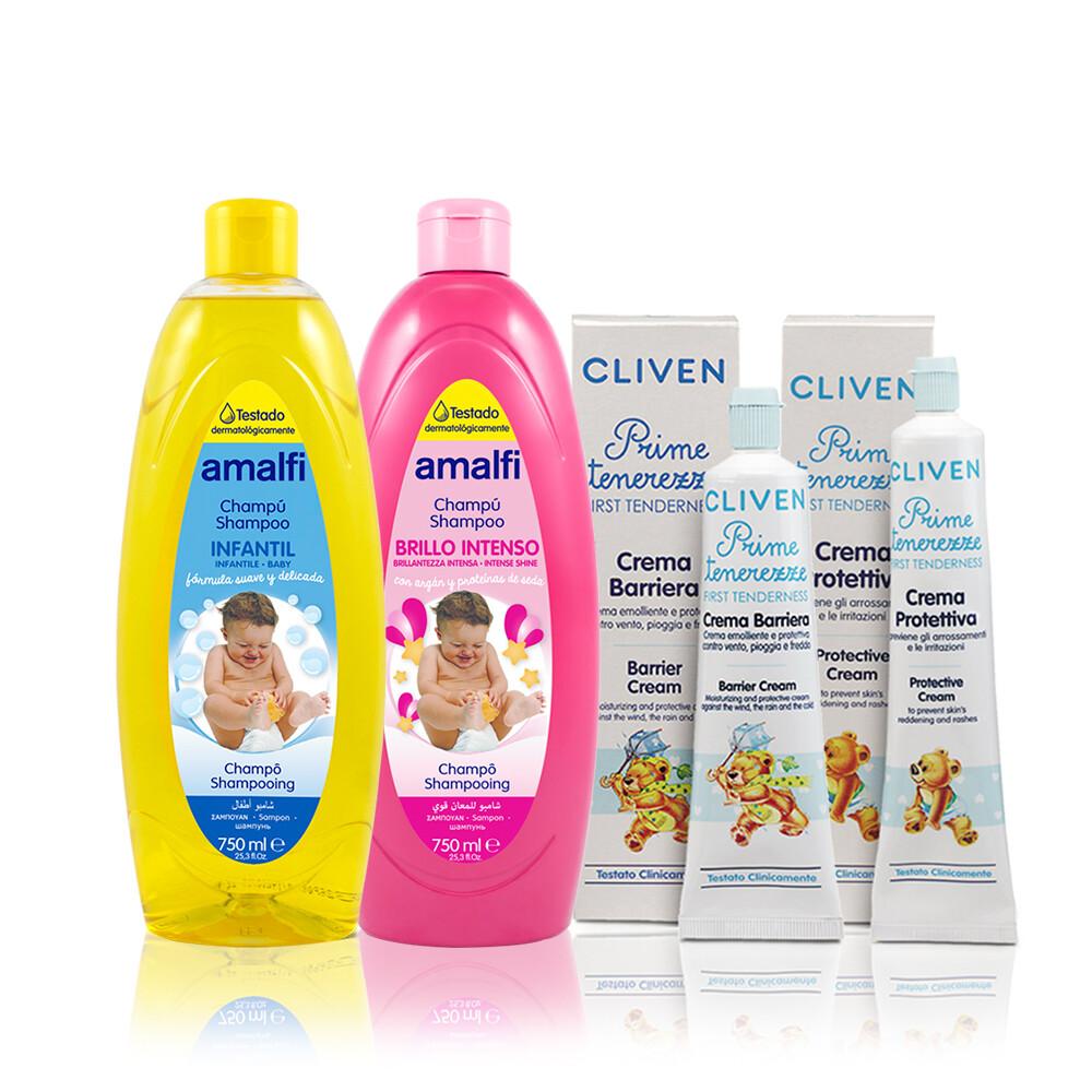 香草森林baby系列洗髮精/屁股保護霜/保濕乳霜任選(歐洲進口)