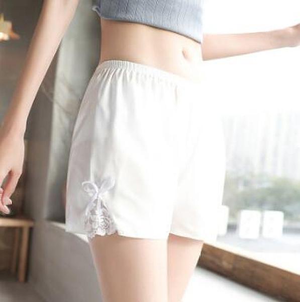 安全裤 寬鬆安全褲防走光女夏季薄款冰絲無痕可外穿不卷邊防狼保險打底褲【快速出貨八折優惠】