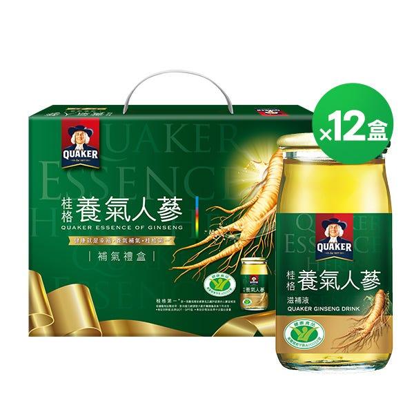 桂格桂格養氣人蔘禮盒12盒組60mlX8瓶