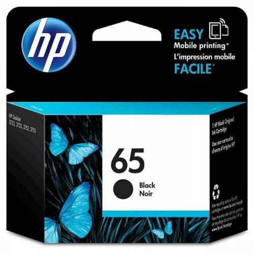 HP 惠普 N9K02AA 黑色 HP 65 Black Original Ink Cartridge 原廠墨水匣