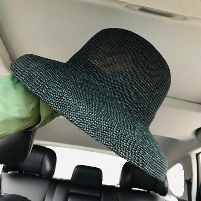 網紅同款簡約休閑百搭鐘形草帽女夏天優雅復古赫本風遮陽帽漁夫帽1入