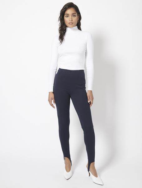 Compact Organic Cotton Panelled Ski Pants