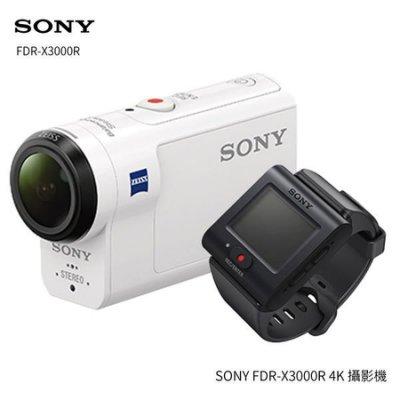 SONY FDR-X3000R 運動攝影機 公司貨 限量贈電池+16G高速卡+清潔組