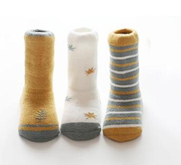 女童襪子 寶寶加厚中筒襪子春季保暖冬天童男童女童兒童高筒長筒【快速出貨八折下殺】