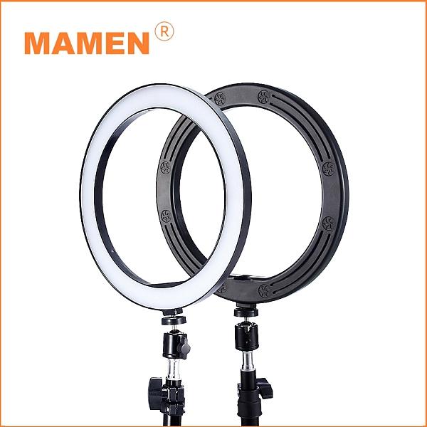 【MAMEN 慢門】6吋環形補光燈+120CM燈架(公司貨)