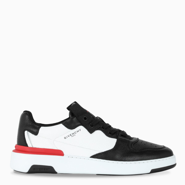 Givenchy Black/red/white Wing sneakers