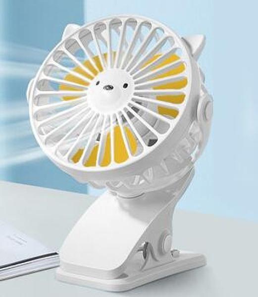 usb小風扇 超靜音隨身便攜式手持辦公室桌上手拿夾式桌面小電風扇【快速出貨八折優惠】