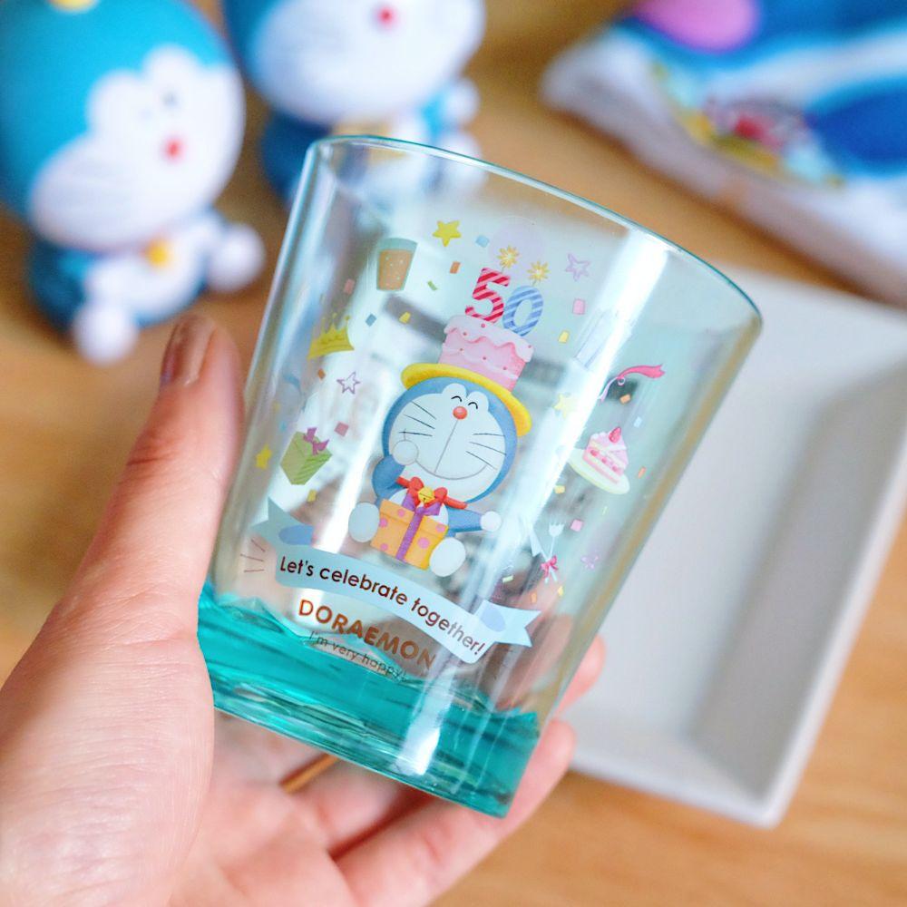 《哆啦A夢》日本商品 50週年限定PET水杯 DORAEMON
