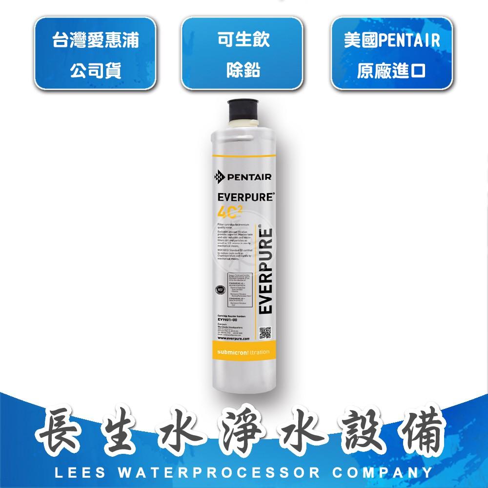 【長生水】EVERPURE 台灣愛惠浦公司貨濾心4C2