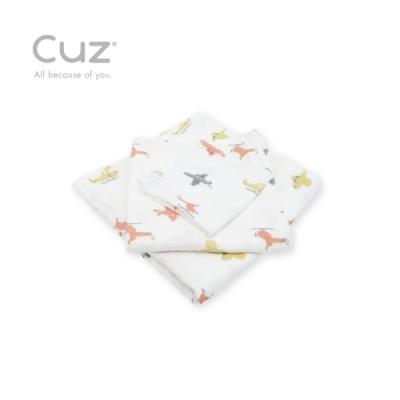 Cuz 有機棉紗布巾特技飛行(紗布巾)30cm(2入)