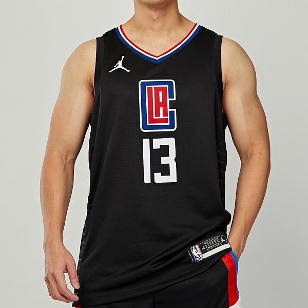 Nike 男 NBA 洛杉磯 快艇隊 Paul George 籃球 無袖 球衣 CV9480-012