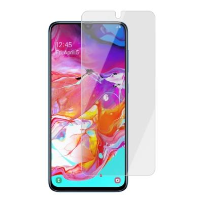 三星 Samsung Galaxy A70 霧面 磨砂 9H鋼化玻璃膜 手機 保護貼-A70-霧面*1