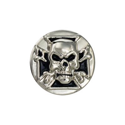IVAN 30mm骷髏頭螺絲式飾片71502-09