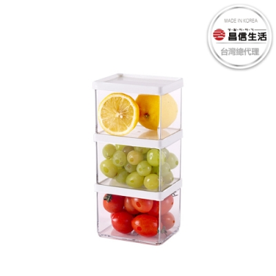 【韓國昌信生活】 POCKET冰箱萬用C組保鮮盒400ml x3