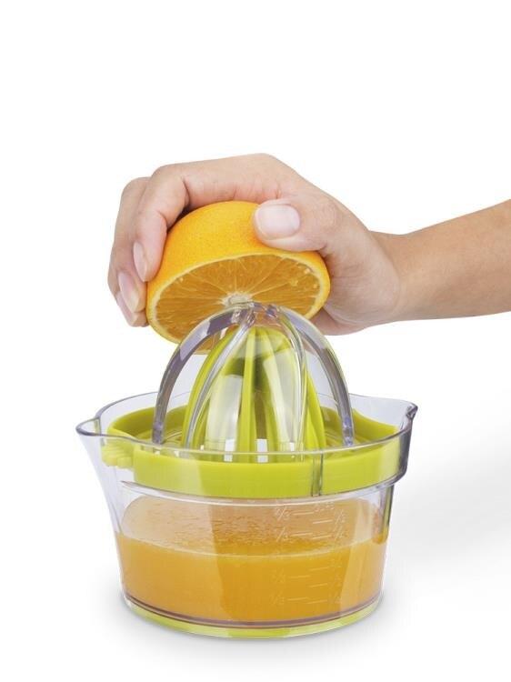手動榨汁器簡易小榨汁杯擠檸檬壓橙子迷你手動果汁榨汁機便攜家用yh