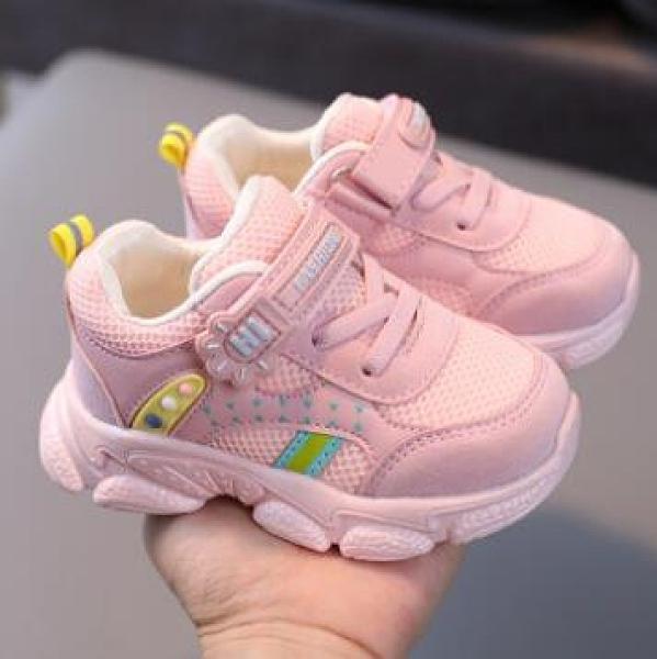 兒童鞋 1-5歲寶寶機能鞋2021春季3兒童運動鞋透氣網鞋男童女童小童鞋子【快速出貨八折搶購】