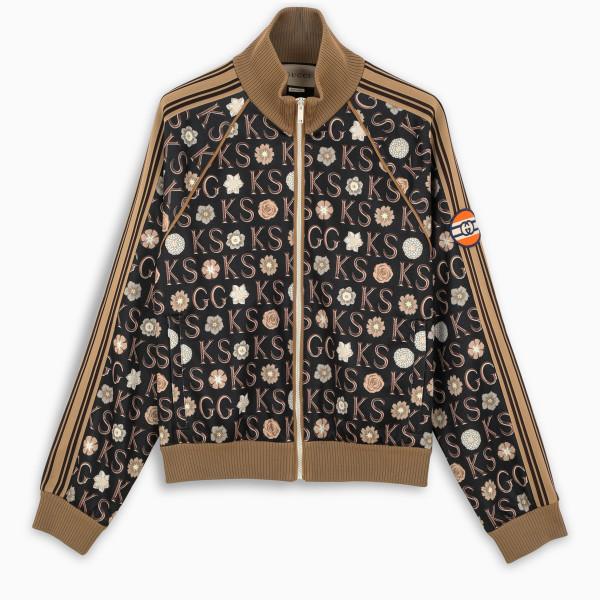 Gucci Ken Scott x Gucci print zip-up sweatshirt