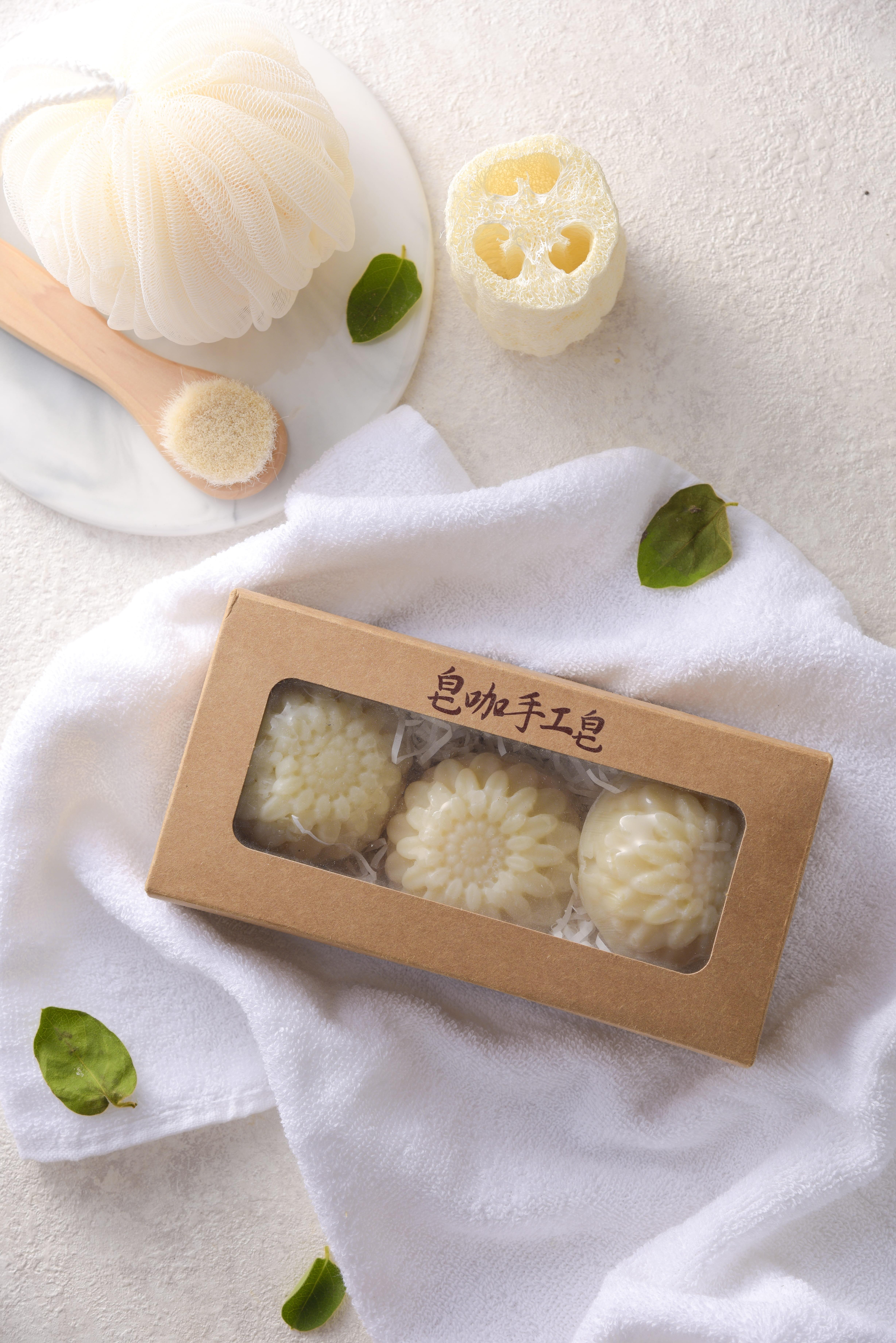苦茶柔順洗髮皂--3入/盒,110g/入,466元/盒