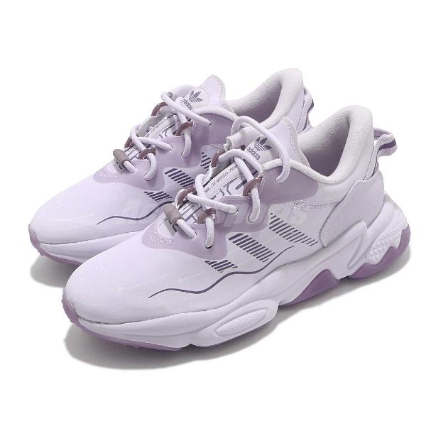 adidas 休閒鞋 Ozweego Ozwg W 紫 女鞋 老爹鞋 運動鞋 【ACS】 GZ8408