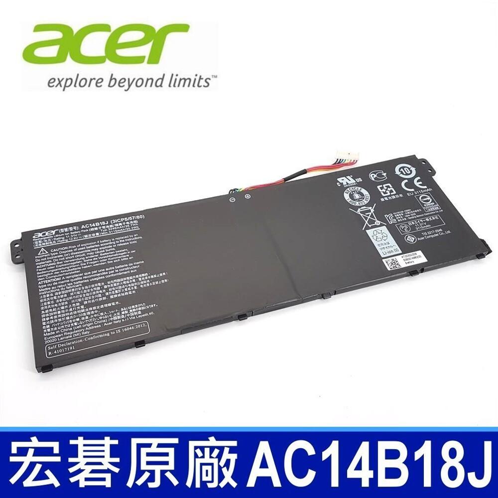 acer ac14b18j 原廠電池es1-731g cb3-531 cb5-311 cb5-531