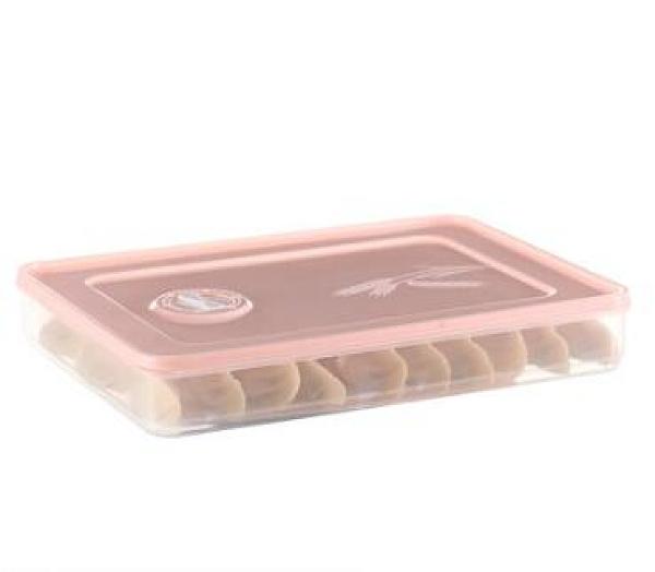 餃子盒 餃子盒凍餃子水餃盒分格冰箱保鮮收納盒食品級密封【快速出貨好康八折】