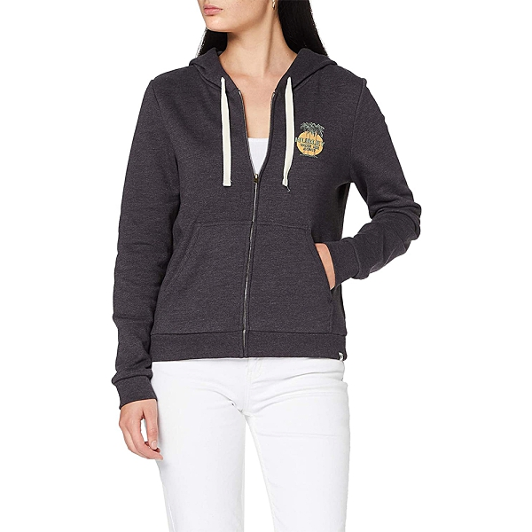 Hurley W TRES PALMS PERF FLEECE 連帽外套 - 女