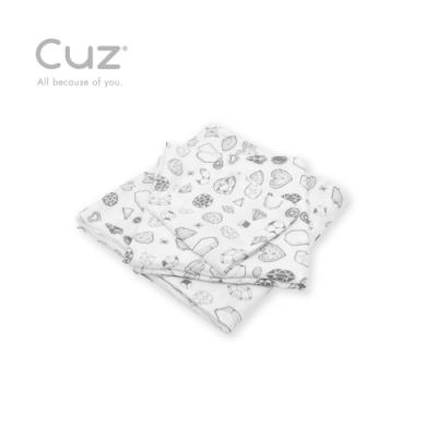 Cuz 有機棉紗布巾礦物演化論(防皺紗布巾)90cm