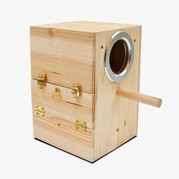 寵物鳥繁殖箱 中小型鸚鵡鳥窩 鸚鵡繁殖箱 養殖巢箱 睡覺鳥窩