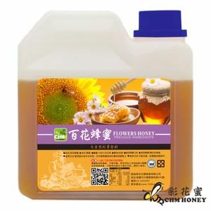 【彩花蜜】台灣百花蜂蜜1200g