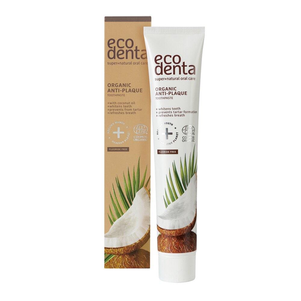 【任二入88折】Ecodenta - 認證級 椰油精華無氟牙膏 75ml