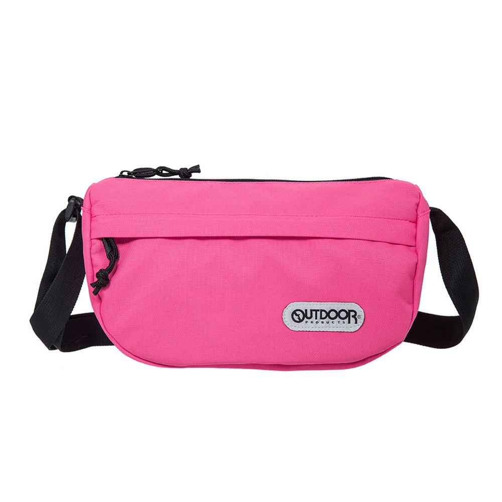 【OUTDOOR】側背包-粉紅色 OD101121PK