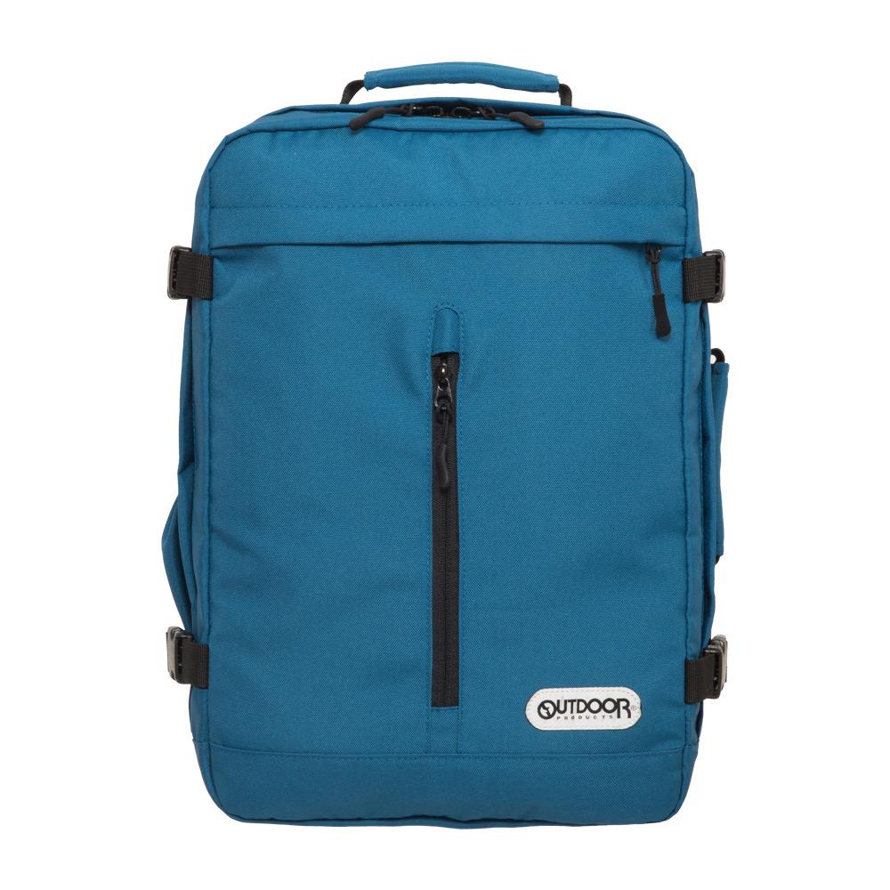 【OUTDOOR】悠遊寰旅-15.6吋筆電後背包-藍色 OD281102BL