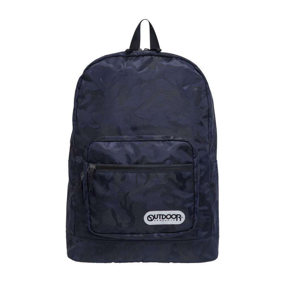【OUTDOOR】迷彩圖騰-後背包-藍迷彩 OD181151NY